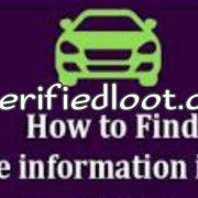 Find Vehicle Owner Information