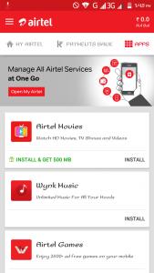 Airtel movies app offer