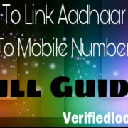 Link Aadhaar Card To Mobile Number